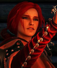 Triss Merigold-the witcher art Witcher 3 Triss, Witcher Art, Ciri, The Witcher Game, The Witcher Wild Hunt, The Witcher Books, The Legend Of Zelda, Kingdom Hearts, Final Fantasy