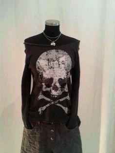 jipie...die geilen Totenkopfshirt's jetzt als Sweati erhältlich! dunkelblau, Anthrazit je 24.90€