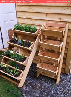 "Let Us Bring Your Garden To You This Spring New 24"" vertical gardening raised elevated Survival standing plant planting system bed v..."