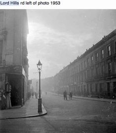 Pre-demolition streets near St Mary Mags Paddington. Uk History, London History, British History, Vintage London, Old London, London Street Photography, Julie Christie, Mary Magdalene, London Photos