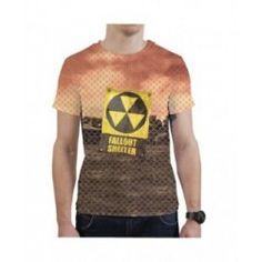 Koszulka Fallout Shelter Fallout, Shelter, Mens Tops, T Shirt, Clothes, Fashion, Supreme T Shirt, Outfits, Moda