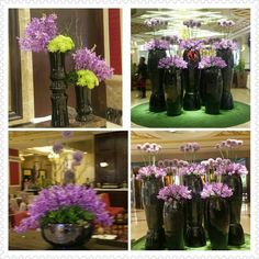 Beautiful alliums and mokaras at the lobby of Maxims Hotel, Resorts World Manila, Philippines. #alliums #mokaras #hotelflowers #lobbyflowers #rwmanila #resortsworldmanila # manilaflorist #winstonblooms #maximshotel #maximslobby #maxims #flowers #floralarrangements