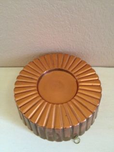 Decorative Fluted Copper Mold by Tonyssmallworld on Etsy