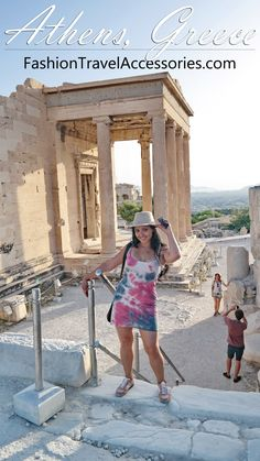 What To Wear In Greece: Santorini, Mykonos, Athens Santorini Greece, Athens Greece, Mykonos, Travel Outfit Summer, Travel Outfits, Greece Outfit, Greece Itinerary, Amsterdam Travel, Rock Pools