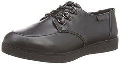 XTI 047336, Zapatos de Cordones Oxford para Mujer, Azul (Navy), 36 EU