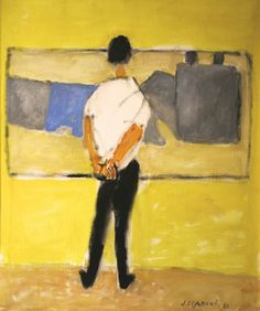 Józef Czapski | The Boy in front of de Stael, 1981