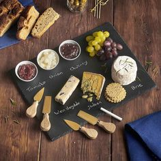 VonShef 9pc Cheese Board & Dipping Set 2