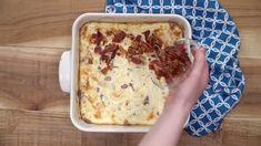 This Sloppy Joe Tater Tot Casserole recipe is a fun twist on an old classic! It's a perfect hot meal for a cold day! Shrimp Boil Foil, Cajun Shrimp, Shrimp Pasta, Easy Taco Casserole, Potato Casserole, Casserole Recipes, Roasted Pork Tenderloins, Baked Pork Chops, Breakfast Enchiladas