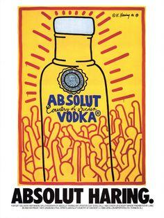Arte y publicidad, juntos y también revueltos. Absolut