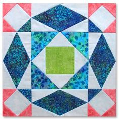 STORM AT SEA QUILT BLOCK from Quilt in Day. This link is for a downloadable free PDF pattern.