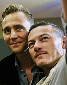 Tom Hiddleston and Luke Evans #HighRise Repin & Like. Listen to Noelito Flow #Noel Music http://www.twitter.com/noelitoflow http://www.instagram.com/rockstarking http://www.facebook.com/thisisflow >>> holy FUCK