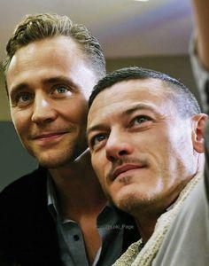 Tom Hiddleston and Luke Evans #HighRise Repin & Like. Listen to Noelito Flow #Noel Music http://www.twitter.com/noelitoflow http://www.instagram.com/rockstarking http://www.facebook.com/thisisflow >>> holy FUCK