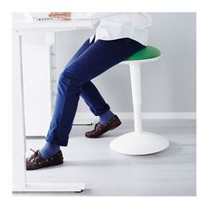 IKEA NILSERIK standing support Gives an active sitting position, which improves your posture.