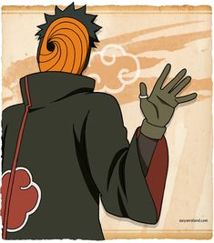 Obito Uchiha (うちはオビト, Uchiha Obito) was a member of Konohagakure's Uchiha clan. He was believed to have died during the Third Shinobi World War, his only surviving legacy being the Sharingan he gave to his team-mate, Kakashi Hatake. In truth, Obito was saved from death and trained by Madara Uchiha, but the events of the war left Obito disillusioned with the world, and he sought to replace it with a new one.