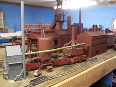 New pictures of my steel mill (Sinter Plant) | Model Railroad Hobbyist magazine | Having fun with model trains | Instant access to model railway resources without barriers