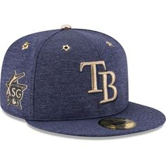 Tampa Bay Rays New Era 2017 MLB All-Star Game Side Patch 59FIFTY Fitted Hat - Heathered Navy