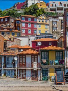 London Guide, Douro, Colourful Buildings, Europe Travel Guide, Urban Art, Travel Inspiration, Pergola, Restaurants, The Neighbourhood