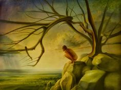 """Peter van Straten """"The Artist. Nothing ruins a grandiose sense of self like a hype. South African Art, Knysna, Source Of Inspiration, Fine Art Gallery, Natural World, Light In The Dark, Surrealism, Mythology, Contemporary Art"""