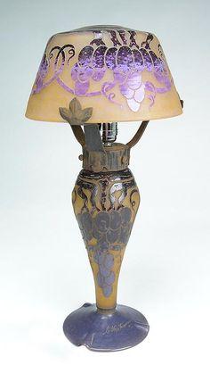 Le Verre Français, Raisins lamp