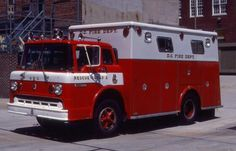 DCFD Rescue 2 1972 Ford