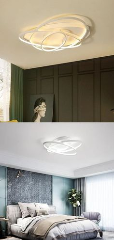 Item Type: Ceiling Lights Is Bulbs Included: Yes Light Source: LED Bulbs Power Source: AC Voltage: 90-260V Certification: EMC,FCC,CCC,RoHS,ce,LVD Body Material: Ironware + Acrylic Install Style: Surface mounted Style: Modern Base Type: Wedge Material: Acryl Number of light sources: > 20 Switch Type: Remote Control Application: Foyer,Bed Room,Dining Room,Study Lighting Area: 15-30square meters Technics: Painted Finish: Iron Is Dimmable: Yes Usage: Daily lighting Warranty: 2 Years Features: Modern