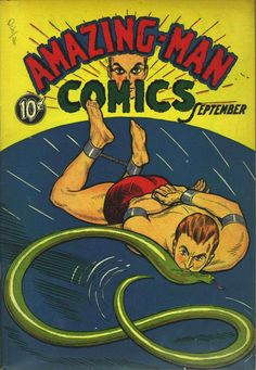 Comic Book Cover For Amazing Man Collection (05-09)