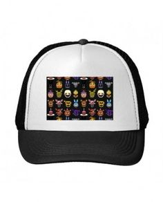 Blackall the five nights at freddy's characters Women's Adjustable Sport Caps
