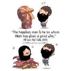 """The happiest man is he to whom Allah has given a good wife."" - Ali Ibn Abi Talib (رضي الله عنه) Snapchat: minidawah Like Tag Your Friends Repost! My Post Don't Make Me Pious; But Every Reminder Benefits The believer. #MiniDawah #dawah #alhamdulillah #imaan #prayer #pray #salah #jannah #deen #faith #hijab #hijabi #modesty #muslim #muslimah #sunnah #islam #islamic #islamicquotes #halal #islamicposts #hadith #quran #quotes #Islamicreminder #love #smile #instaislam #prophetmuhammad (ﷺ) by…"