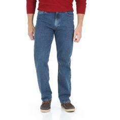 Wrangler Men's Advanced Comfort Regular Fit Jean, Size: 42 x 32, Gray