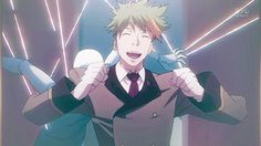 Death Parade Opening. Aw! Clavis is so cute!