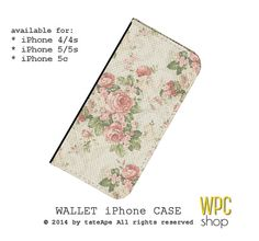 iPhone 5s wallet case iPhone 5 wallet case by WalletPhoneCase, $21.00