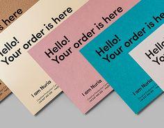 I am Nuria — Branding + Pantotarjetera Business Branding, Business Card Logo, Business Card Design, Clothing Packaging, Fashion Packaging, Thank You Card Design, Bussiness Card, Brand Packaging, Cookie Packaging