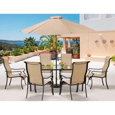 7-Piece Terrence Patio Dining Set