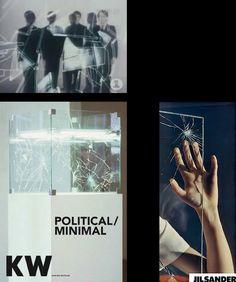"""BACK TO INTRO  SHOWROOM DUMMIES""""WE START TO MOVE AND WE BREAK THE GLASS""""KRAFTWERK, SHOWROOMDUMMIES (VIDE... collage, jil sander, kraftwerk"""