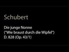 Schubert - D. 828 (Op. 43-1) Die junge Nonne.wmv