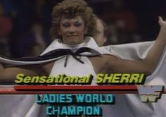 WWF SURVIVOR SERIES 1987 -  Sensational Sherri captained a women's team against The Fabulous Moohlah's team in awesome tag match