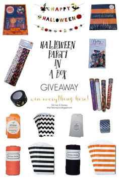It's Halloweek!: $100 Halloween Party In A Box Giveaway