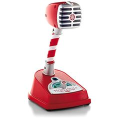 Hallmark 2014 Northpole Communicator Interactive Microphone -- Details can be found by clicking on the image. (This is an affiliate link) #DressUpPretendPlay