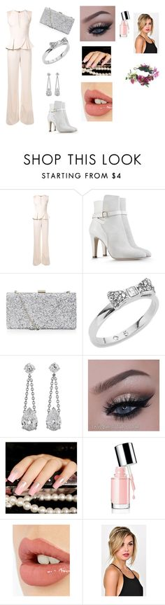 Virada do ano (Ano novo Reveillon) by ciana-si on Polyvore featuring moda, Elie Saab, Alberta Ferretti, Kate Spade, Rock 'N Rose and Charlotte Tilbury