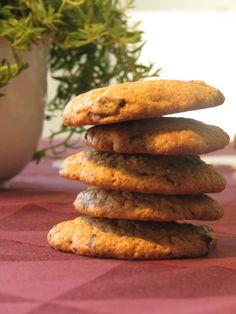 Super lækre gluten- og laktosefri havre chokolade cookies! Lchf, Keto, Cook N, Low Fodmap, Eat Cake, Clean Eating, Paleo, Food And Drink, Gluten Free