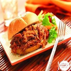 Polynesian Pulled Pork Sandwiches by The Power of Family Meals
