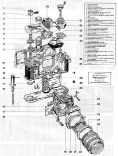 exploded illustrations tank - Google Search