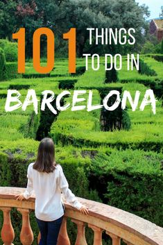 101 things to do in Barcelona