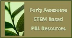 Great collection of STEM resources.