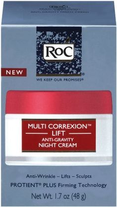 RoC Multi Correxion Lift Anti-gravity Night Cream, 1.7 Ounce by RoC. $17.52. Breakthrough line of products diminishes the appearance of multiple signs of aging. Anti-gravity night cream. Exclusive fusion of pure roc® retinol and antioxidants. Roc® multi correxion™ lift anti-gravity night cream, 1.7 oz.