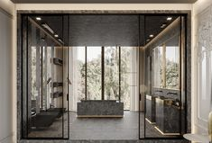 Agatha O l Marsala apartment on Behance Marsala, Luxury Homes Interior, Home Interior Design, Bathroom Interior, Modern Bathroom, Restroom Design, Deco Design, Home And Deco, Bathroom Inspiration