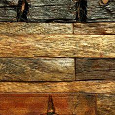 Rustico Recycled Timber Tile 601, Tiles - Wall Tiles - Timber Wall Tiles