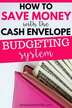 Want to know how to save money with the cash envelope system? Learn how to control bad spending habits and stay on track with your budget. A beginners guide to help you get started with a simple budgeting system using envelopes or a cash system wallet. Money Plan, Money Tips, Money Saving Tips, Saving Ideas, Money Savers, Earn Money, Envelope Budget System, Cash Envelope System, Budget Envelopes