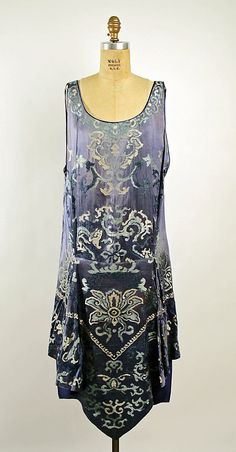 Dress, Evening  Callot Soeurs  (French, active 1895–1937)  Date: 1926 Culture: French Medium: silk