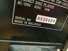 Sony mega storage 200CD